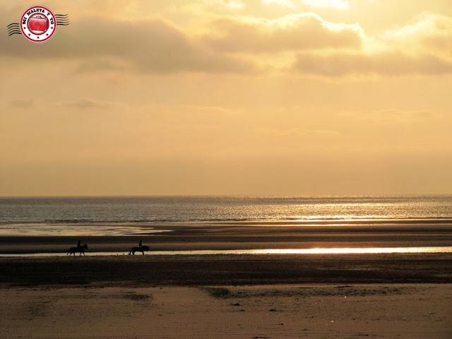 Le Touquet - paseos a caballo por la playa