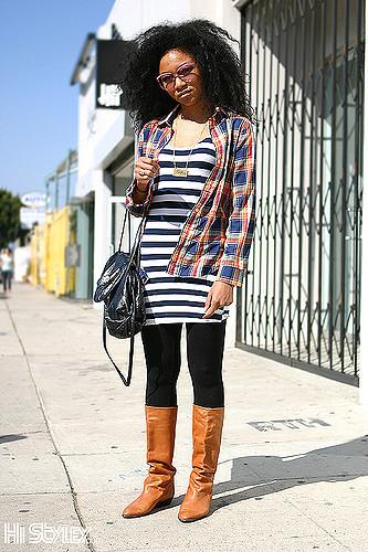 kleid mit leggins kombinieren