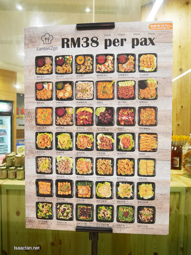 It will only come up to be RM38 per pax