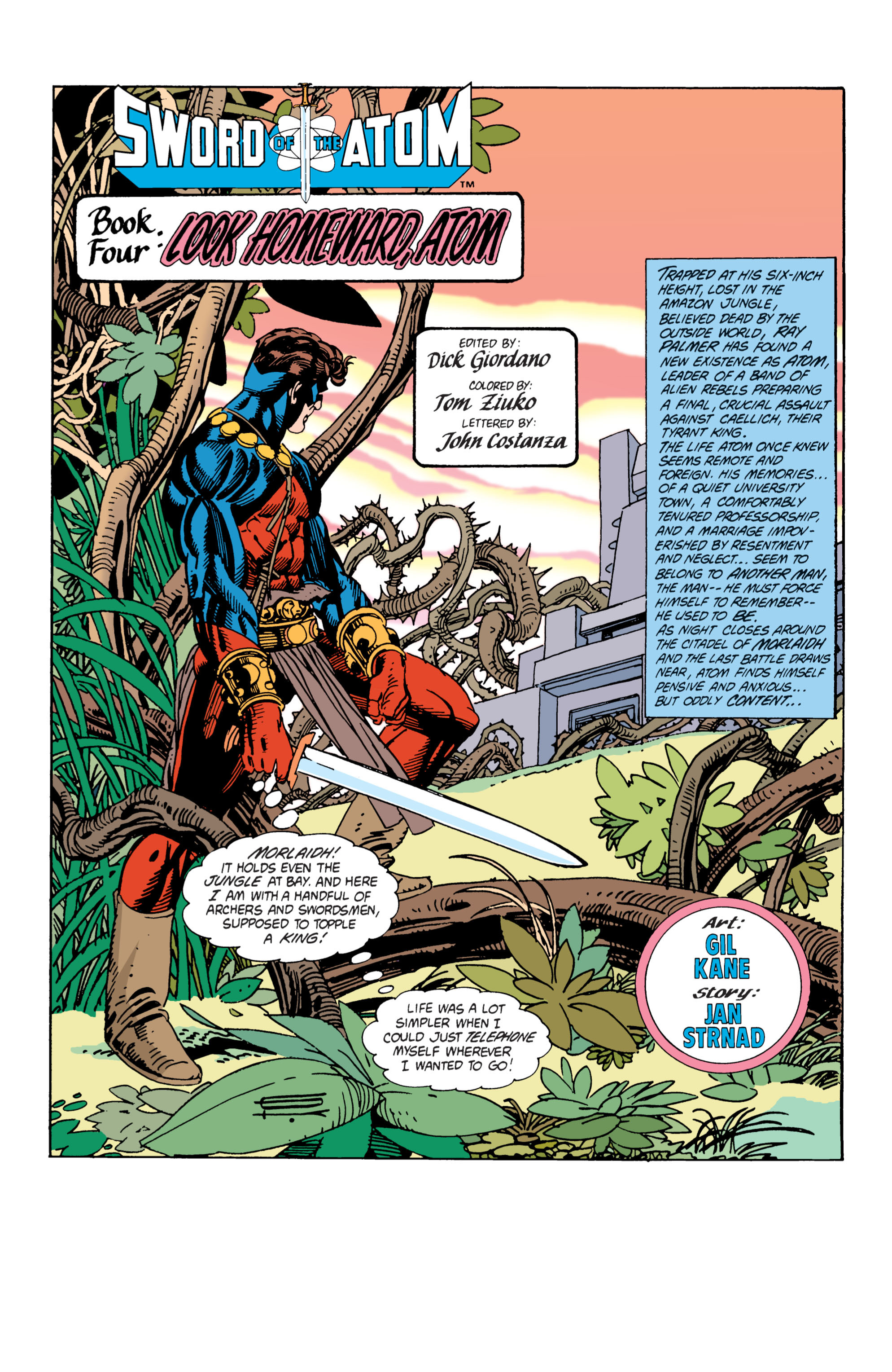 Sword of the Atom (1983) issue 4 - Page 2