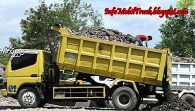 Gambar dump truk mitsubishi canter