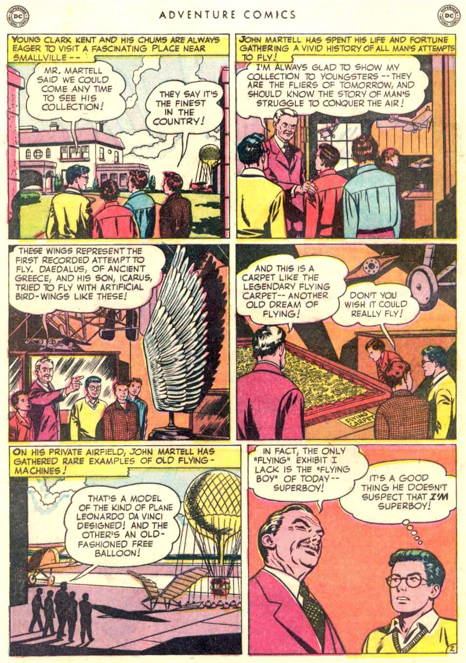Read online Adventure Comics (1938) comic -  Issue #156 - 4