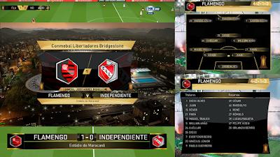 PES 2018 Scoreboard Copa Libertadores by Arthur T