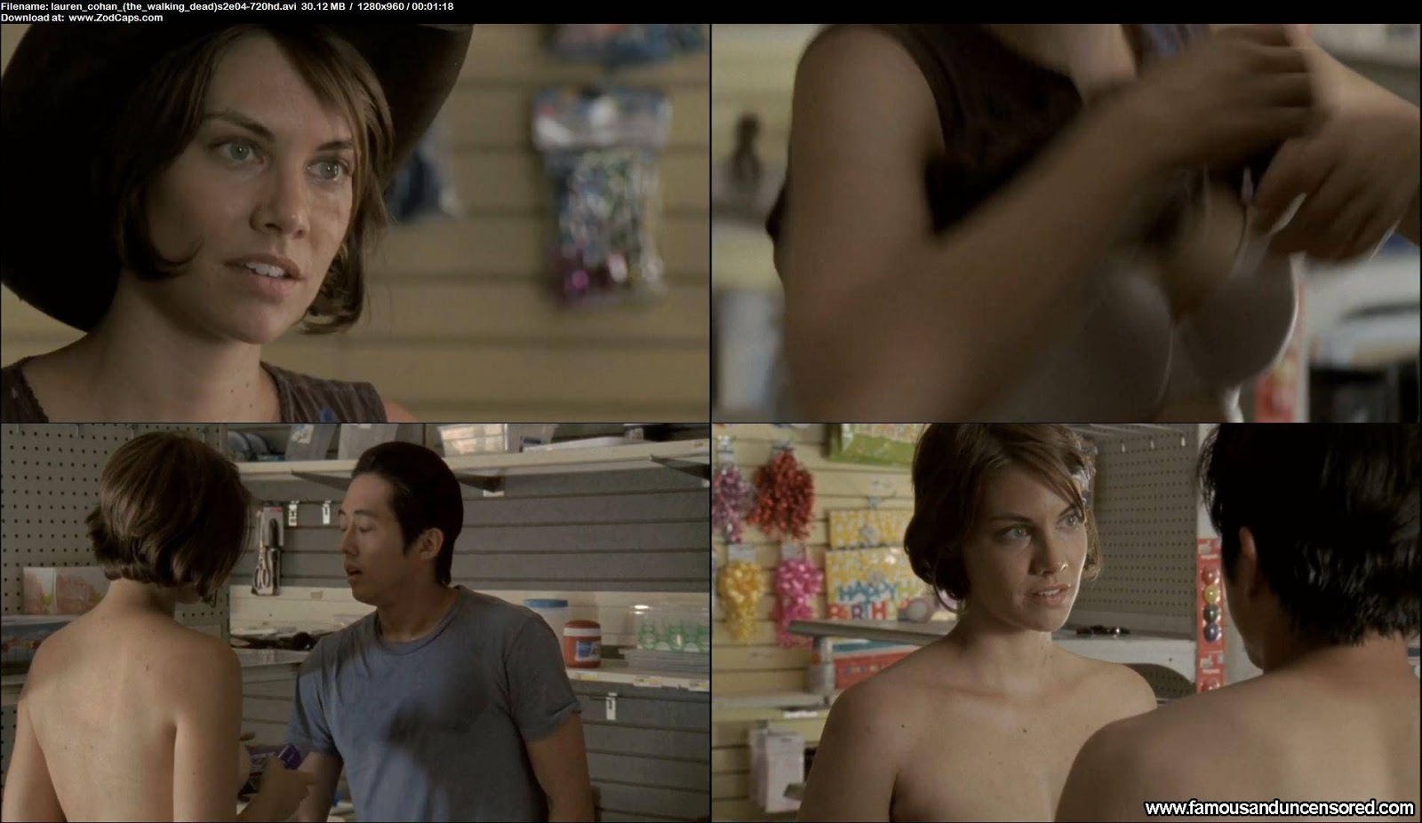 The Walking Dead Nude Scene