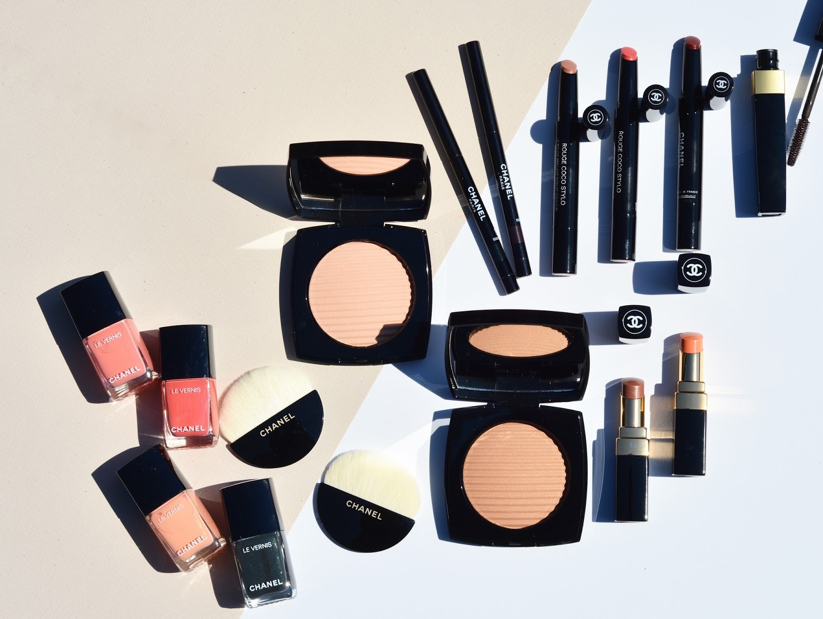 chanel summer 2017 cruise collection makeup review swatches