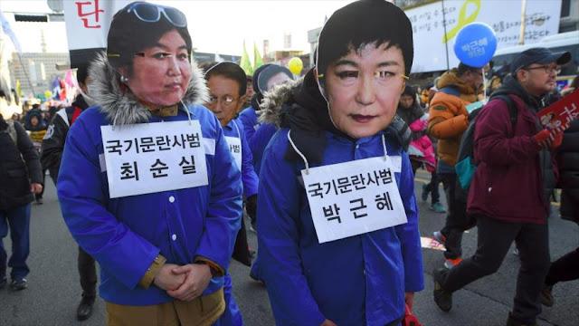 Detienen en Dinamarca a hija de la amiga de presidenta surcoreana