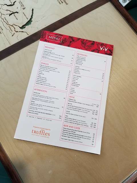 v2v buy on board menu