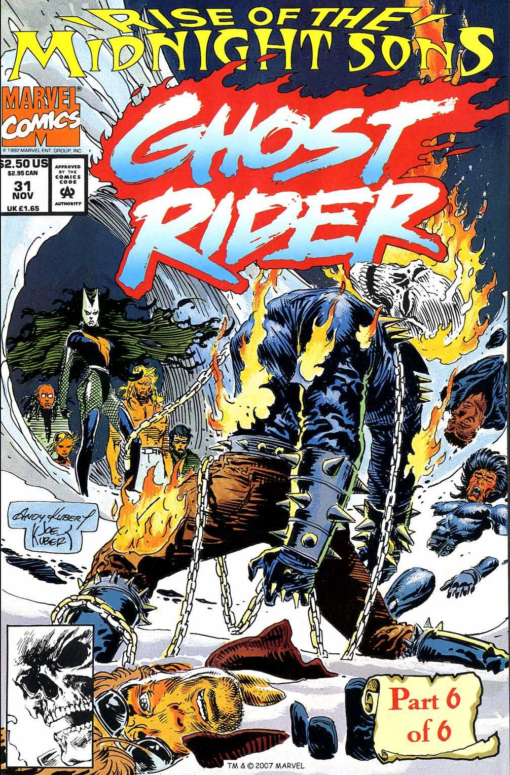 Ghost Rider (1990) 31 Page 1