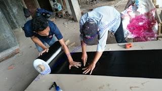serat karbon fosroc