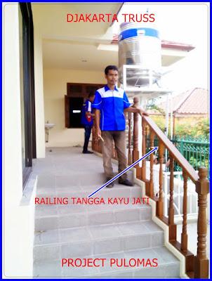 Proyek Railling tangga pulomas Djakarta Truss