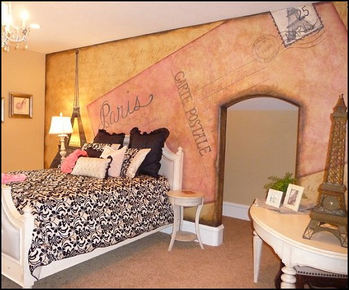 Decorating theme bedrooms - Maries Manor: Paris themed bedroom ...