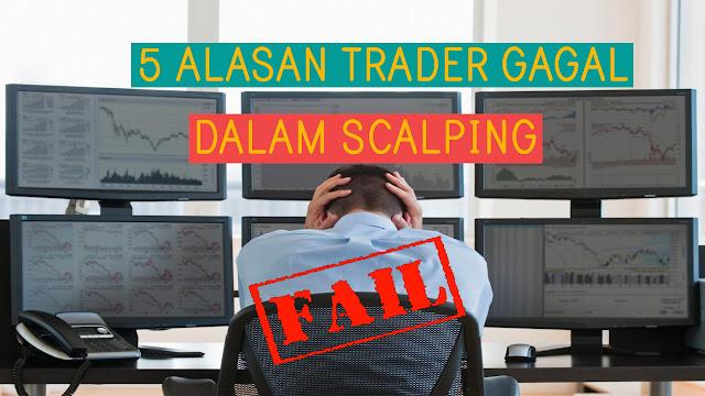 alasan trader gagal