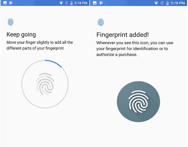 Xiaomi Mi A1 : Fingerprint Scanner Setup, App Lock/Unlock