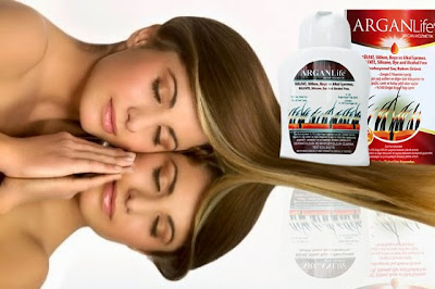 argan life herbal shampoo