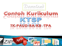 Contoh Kurikulum KTSP (TK/PAUD/RA/KB/TPA)