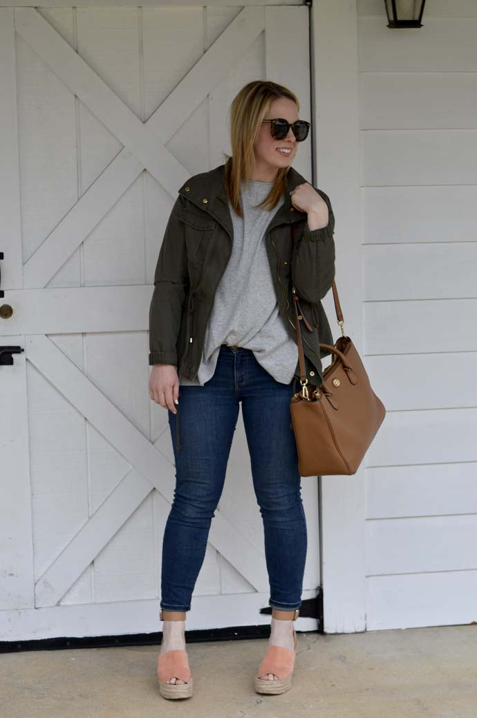 How to Layer Utility Jacket A Blonde's Moment