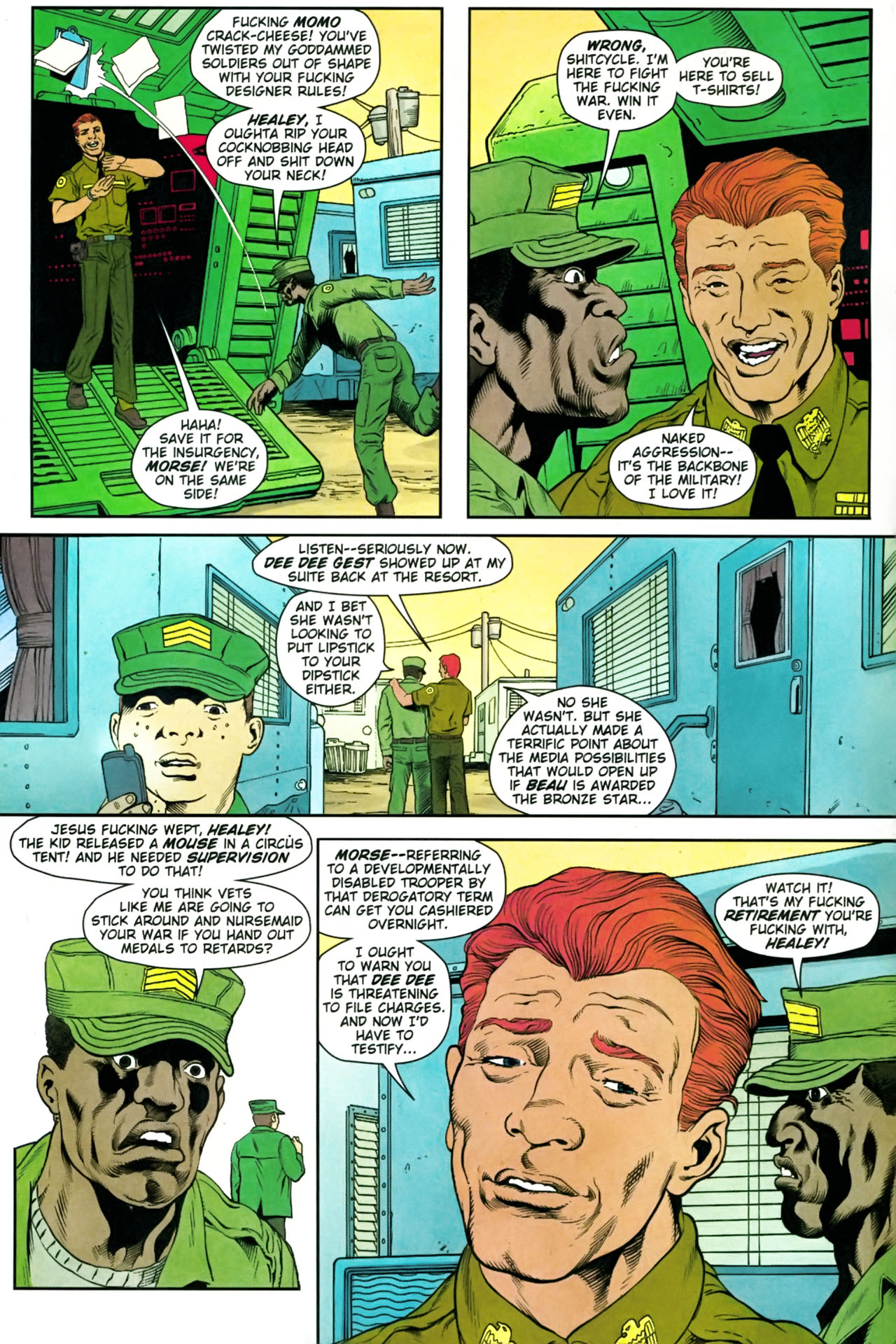 Read online Army @ Love comic -  Issue #9 - 6