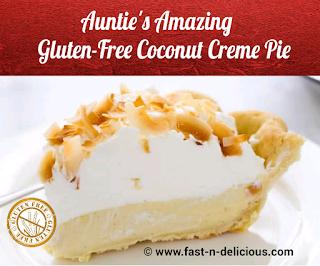 Gluten-Free Coconut Creme Pie