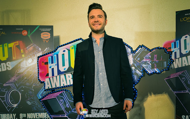Shane Filan @ The Shout Awards 2013 Red Carpet