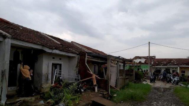 Empat Wilayah di Bandung Diterjang Puting Beliung, Berikut Update Terbaru Jumlah Korban