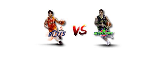 April 27: Meralco vs GlobalPort, 4:30pm Smart Araneta Coliseum