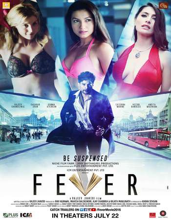 Poster Of Fever 2016 Hindi 650MB CAMRip x264 Watch Online Free Download Worldfree4u