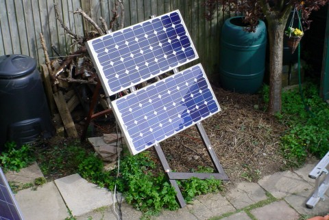Solar Power A Bodger S Guide New Mobile 170wp Array