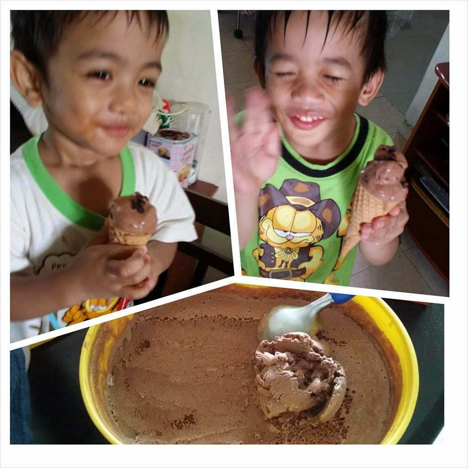 Resepi Aiskrim Coklat  Mudah Paling Berkhasiat Super Sedap Kalah Cornetto