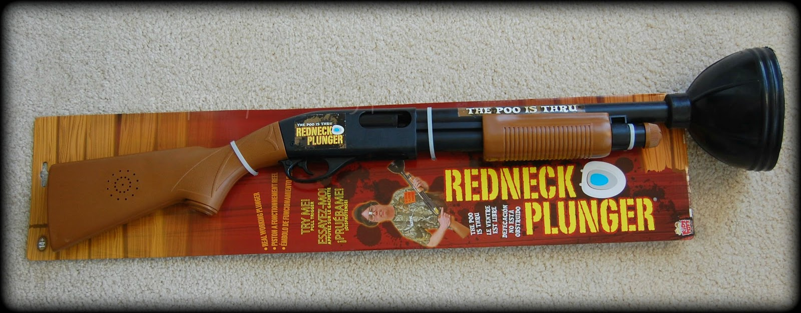 Temporary Waffle: The Redneck Plunger - The Perfect Funny Gift!