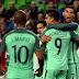 Cristiano Ronaldo dá assistência e Portugal vence Hungria pelas Eliminatórias