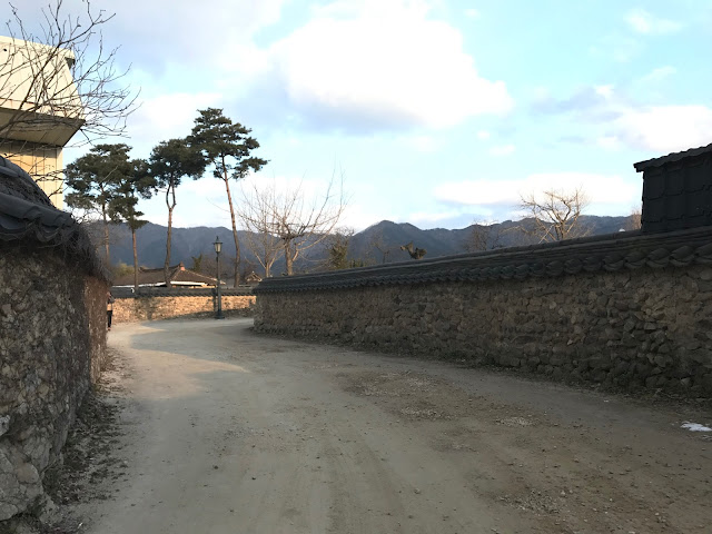 Old Stone Wall Street Joseon period