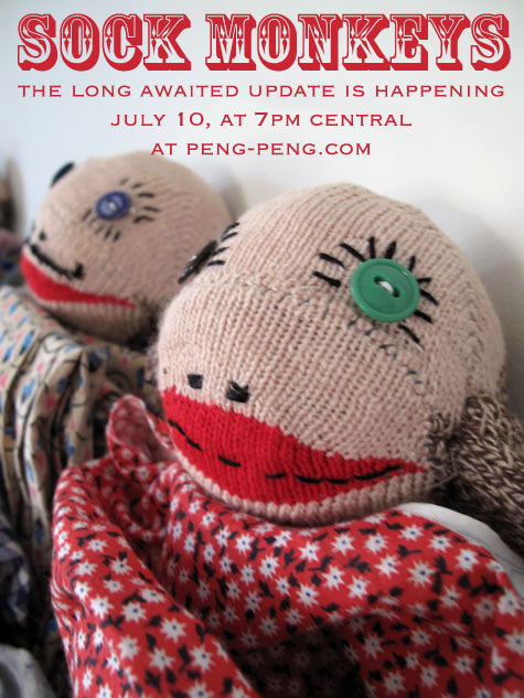 sock monkeys coming