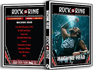 Machine Head live at Rock am ring 2012