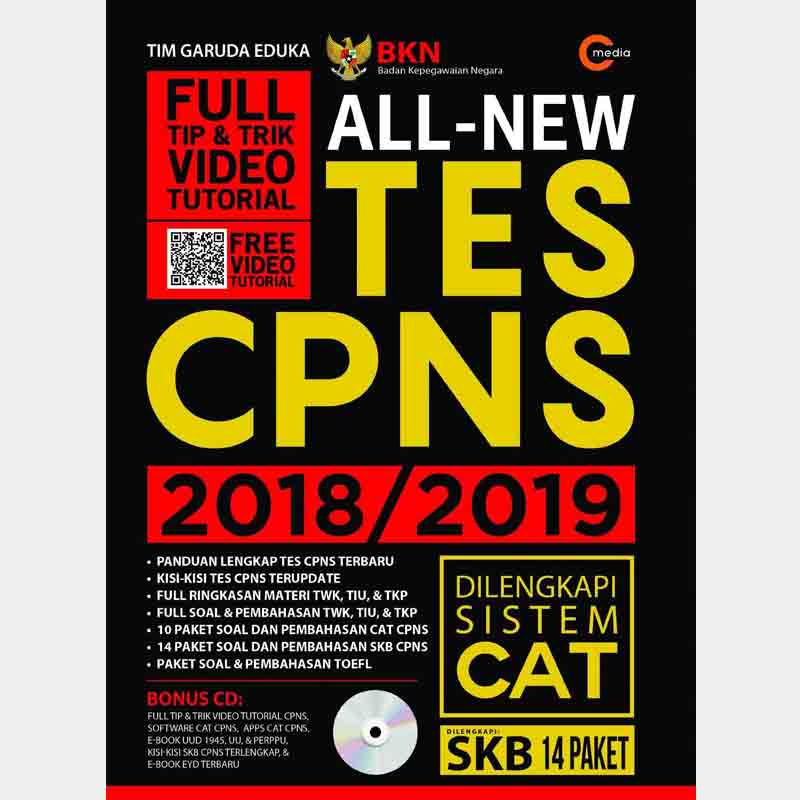 Ebook CPNS All New Tes CPNS 2018-2019