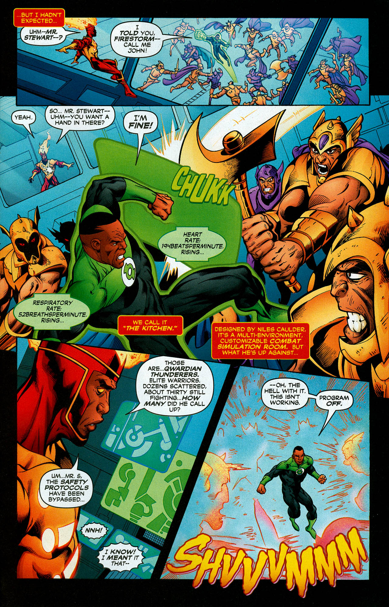 Read online Trinity (2008) comic -  Issue #7 - 21