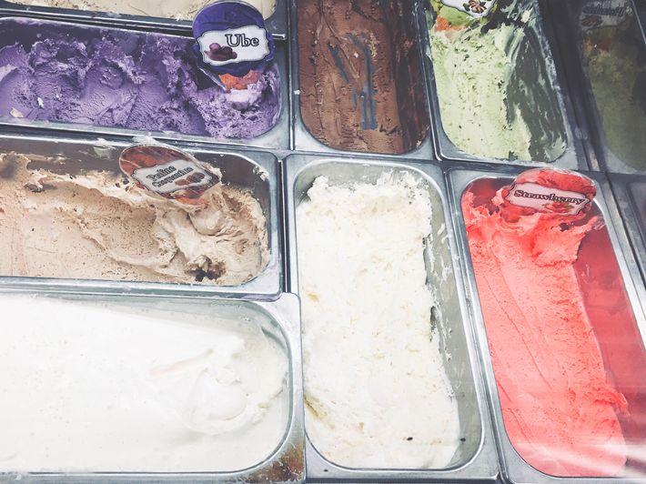 Ice cream at Dusit Thani Manila's The Pantry