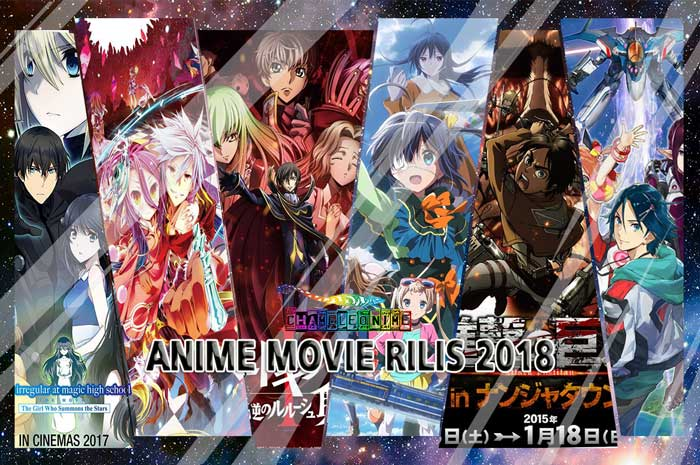 REKOMENDASI 30 Anime Movie Terbaik Rilis Winter 2018 List Lengkap