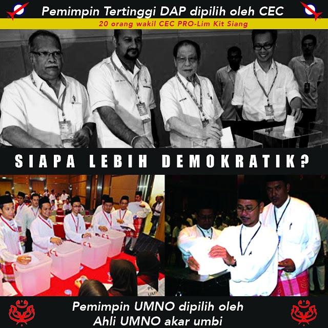 Demokrasi Tidak Wujud Dalam DAP #DAP