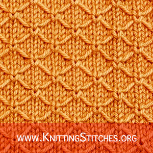 Quilted Lattice - Such a great stitch pattern. Very enjoyable to knit and very quick.