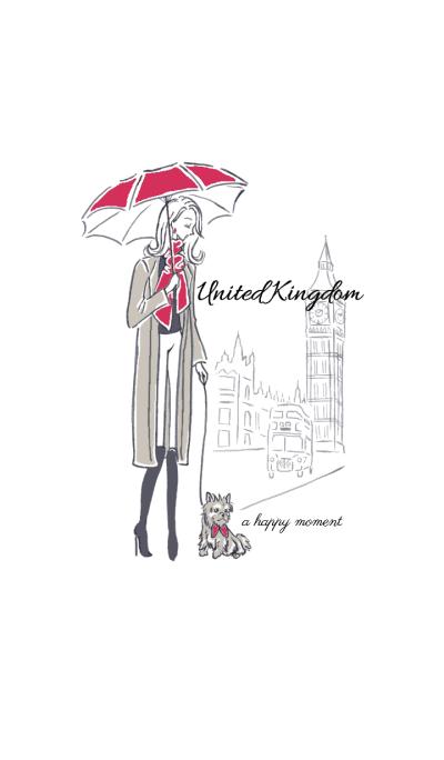 UK -a happy moment-
