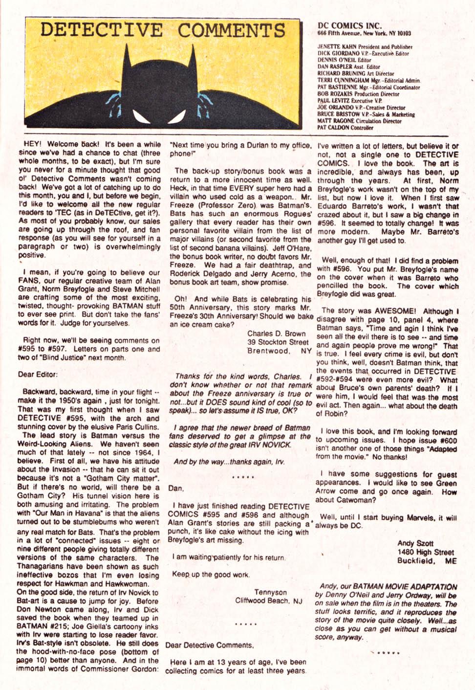 Detective Comics (1937) 601 Page 23