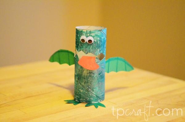 Toilet Paper Bird Feeder