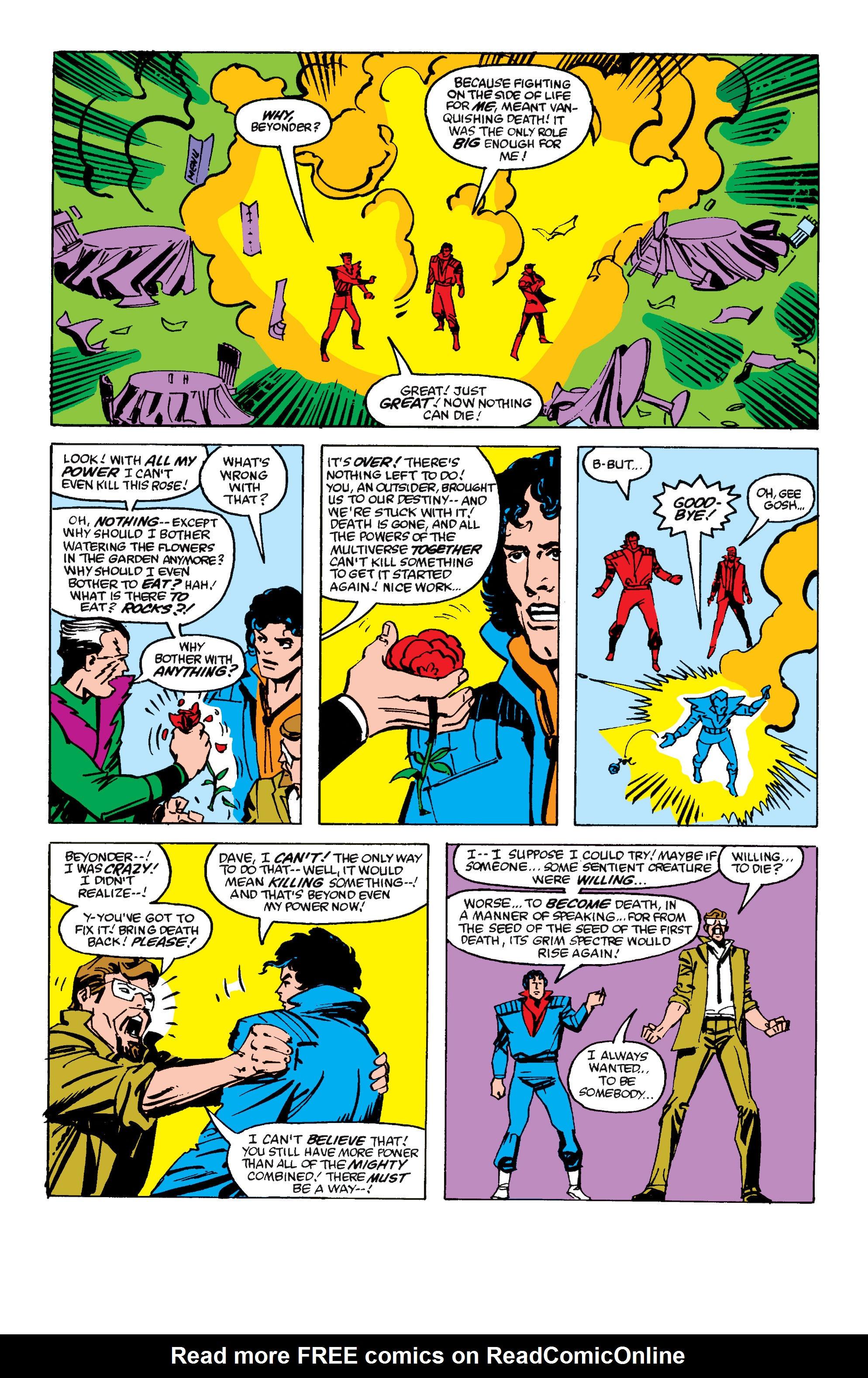 Read online Secret Wars II comic -  Issue #6 - 25