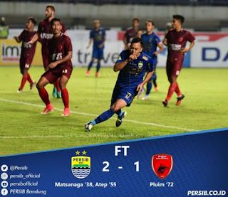 Pelatih Persib Djadjang Nurdjaman Berperan dalam Kemenangan Persib atas PSM Makassar.