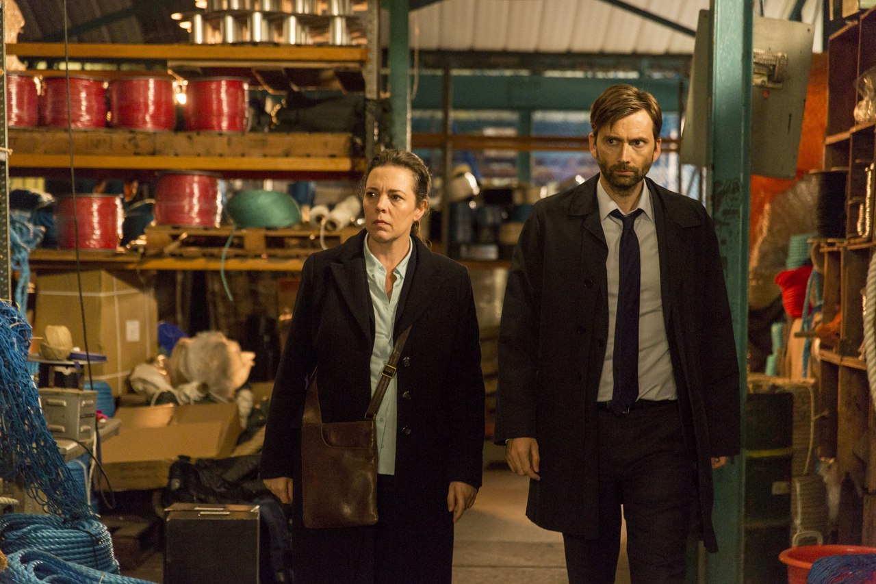 We got married episode 331 2008 - Updated Photos David Tennant And Olivia Colman In Broadchurch Series 3