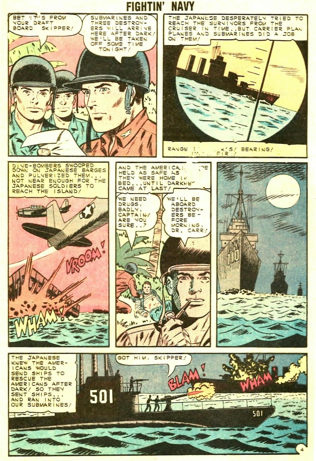 Read online Fightin' Navy comic -  Issue #119 - 28