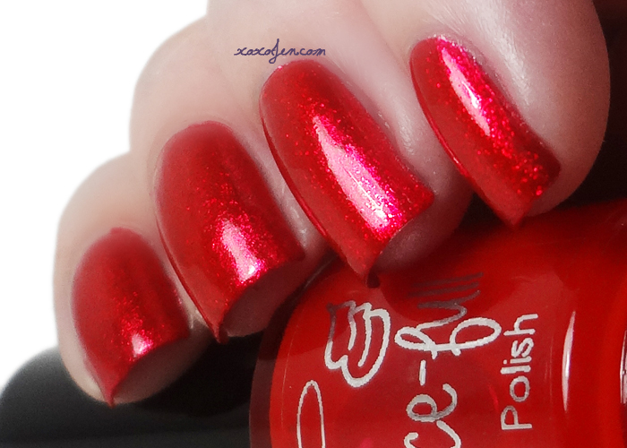 xoxoJen's swatch of Grace-full Red Tint