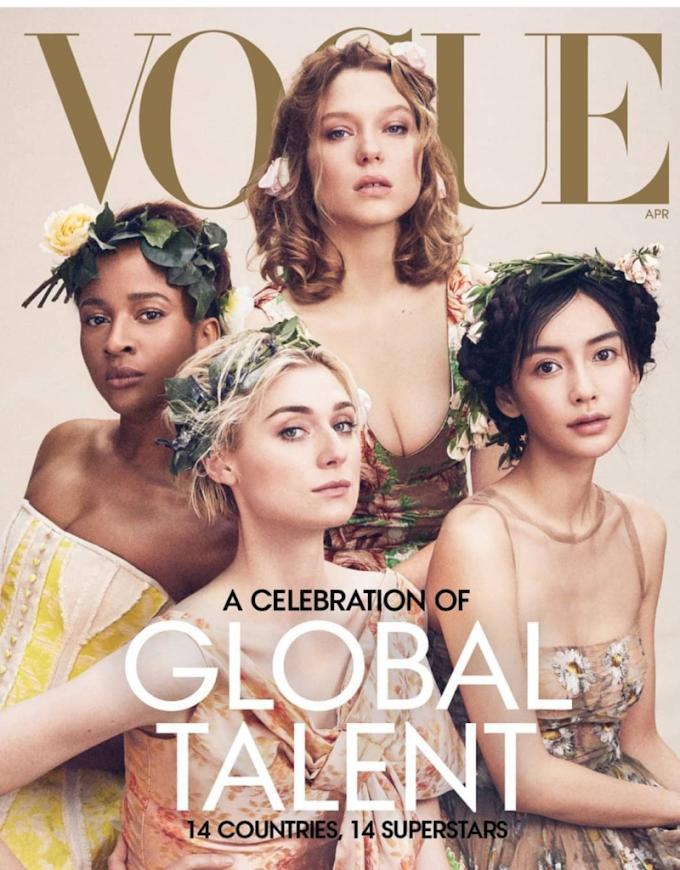 Adesua Wellington features on April issue of Vogue Magazine