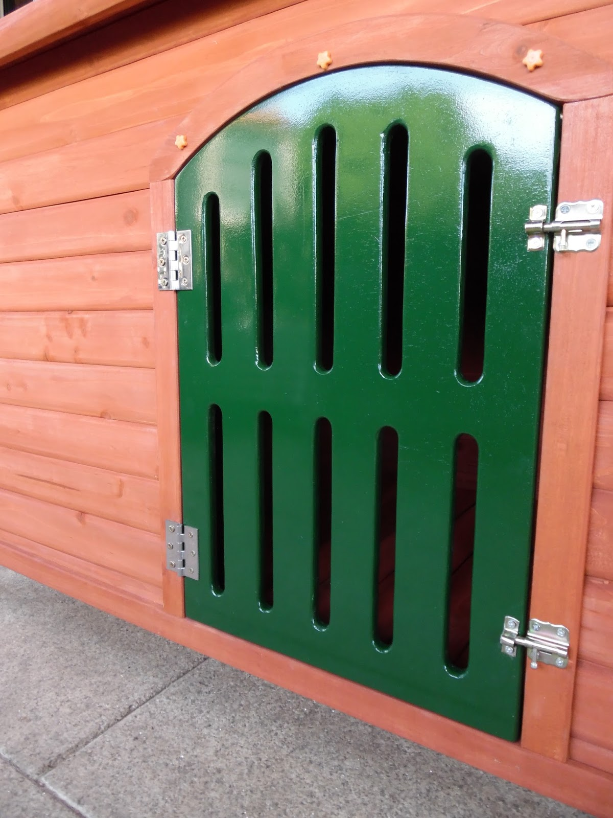 El rinc n de un aprendiz c mo hacer una peque a puerta de - Como hacer una caseta de madera para el jardin ...