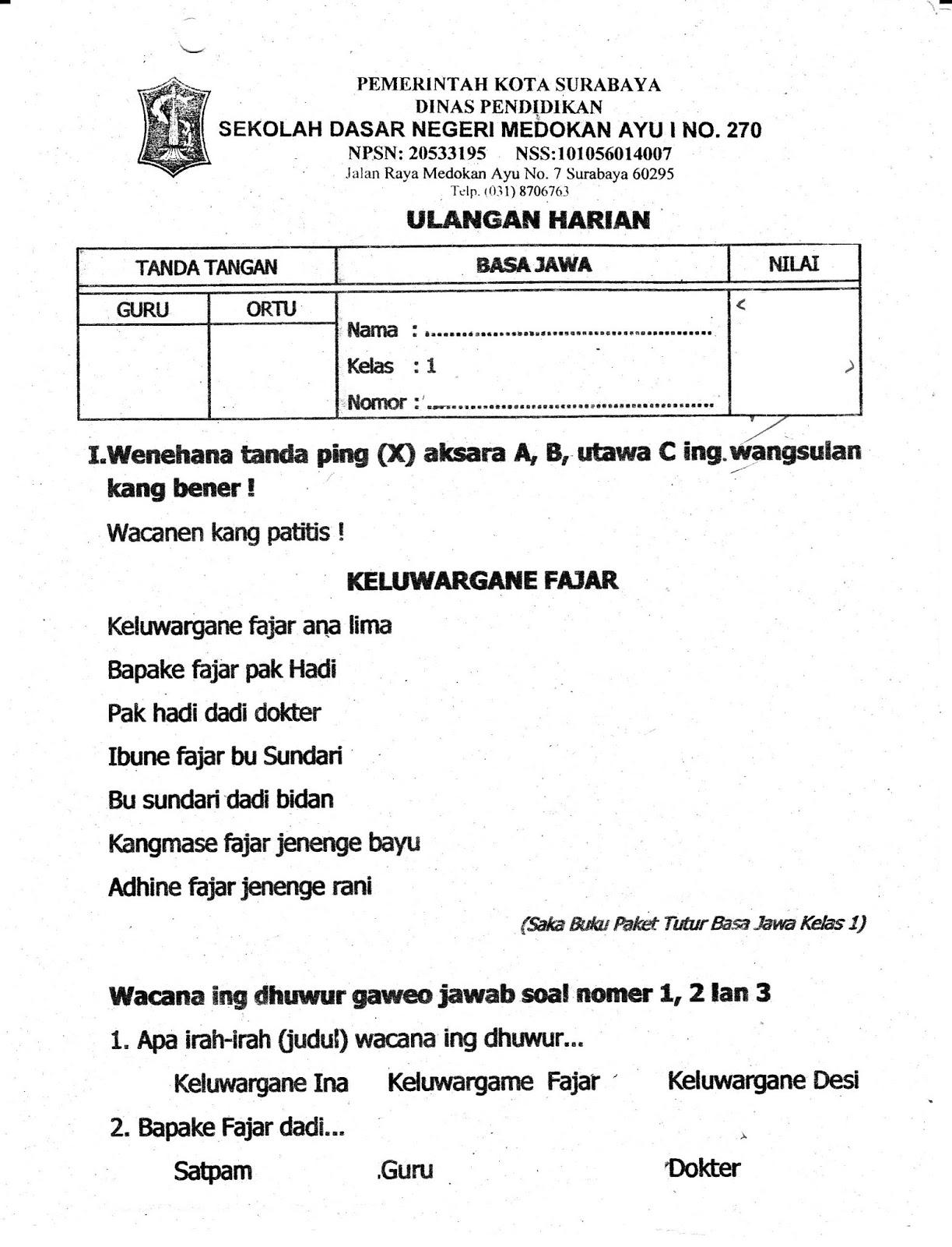 Buku Bahasa Jawa Kelas 3 Ilmusosial Id